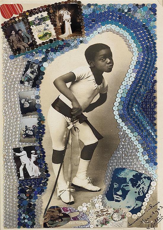 AMALIA AMAKI (1949 -    ) Harlem Dancers.