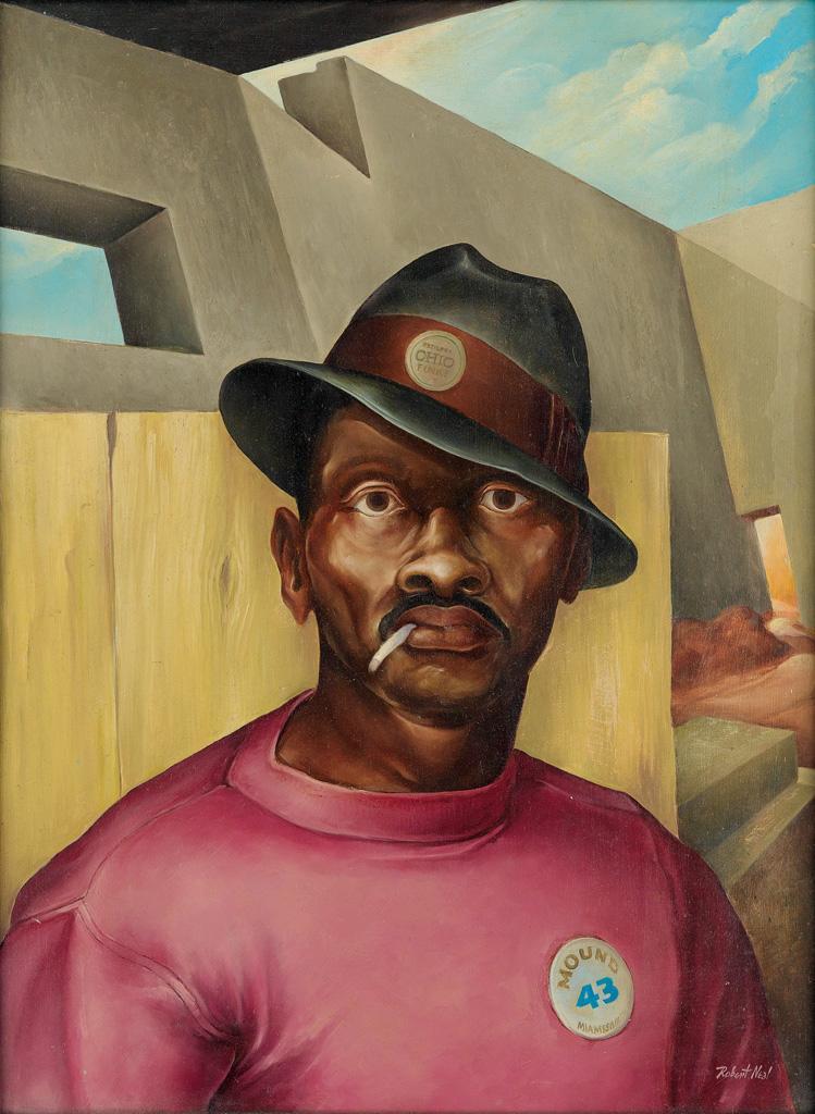 ROBERT NEAL (1916 - 1987) The Laborer.
