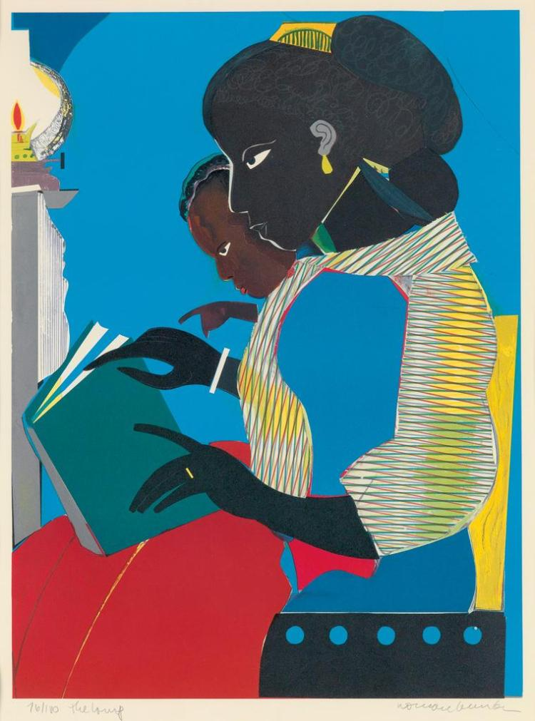 Romare Bearden 1911 1988 The Lamp - Romare-bearden-coloring-pages