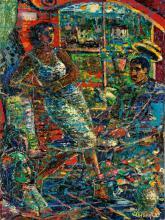 LOUIS DELSARTE (1944 - ) Congas de Cuba.