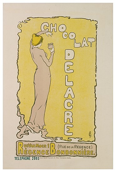POSTER: GASTON BOUY (1866-1943). CHOCOLAT DEL
