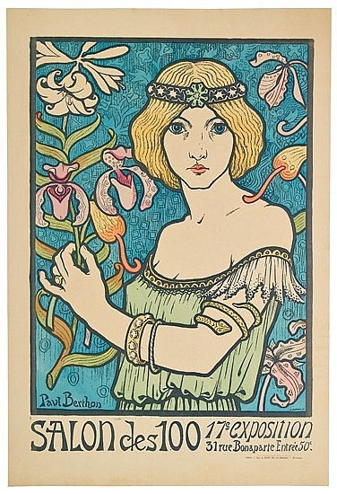 POSTER: PAUL BERTHON (1872-1909). SALON DES 1