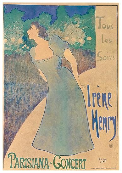 POSTER: HENRI-GABRIEL IBELS (1867-1936). IRÈN