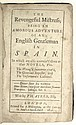 AYRES, PHILIP. The Revengeful Mistress; being, An Amorous Adventure of an English Gentleman in Spain.  1696