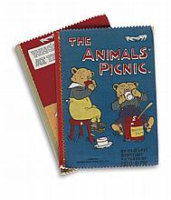 (CHILDREN'S LITERATURE.) BINGHAM, CLIFTON and ELLETT, R.E. Two Dean's Rag Books. The Animals' Picnic * Who's Who at the Zoo.