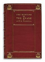 (CHILDREN'S LITERATURE.) CARROLL, LEWIS [Dodgson, Charles Lutwidge]. Hunting of the Snark.