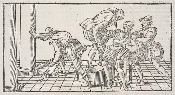 PARÉ, AMBROISE. De Chirurgie, ende Opera van alle Wercken, van Mr. Ambrosius Paré.  1655