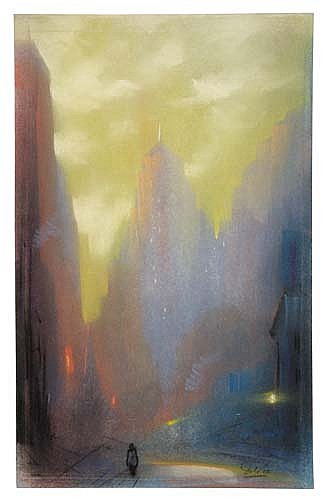 LEON DOLICE Sunset, New York.