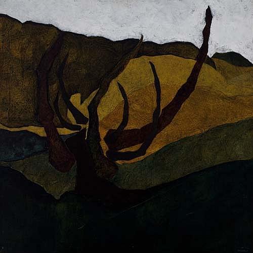 DAN CONCHOLAR (1939 -  ) Desert Cactus.