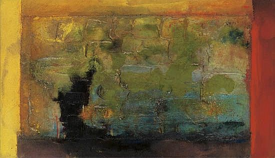 FRANK BOWLING (1936 -   ) Blue Trane.