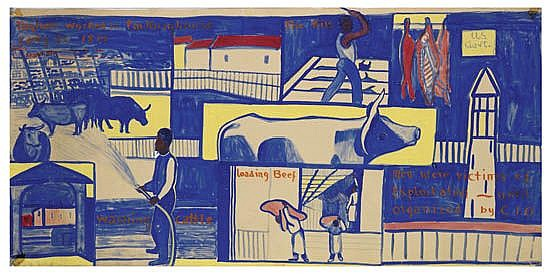 THELMA JOHNSON STREAT (1911 - 1959) Meatpacking House.
