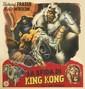 DESIGNER UNKNOWN. LA SFIDA DI KING KONG. Circa 1945. 57x54 inches, 146x137 cm.