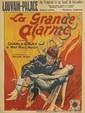 DESIGNER UNKNOWN. LA GRANDE ALARME. Circa 1926. 33x24 inches, 83x61 cm. Léon Clement & Cie, Brussels.
