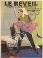ARMAND RAPEÑO (DATES UNKNOWN). LE RÉVEIL. 1925. 60x44 inches, 154x113 cm. Bauduin, Paris.