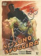 ANSELMO BALLESTER (1897-1974). NESSUNO SFUGGIRÀ. 1946. 77x55 inches, 195x139 cm. N. Moneta, Milan.