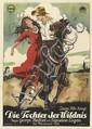 GEORG POLLAK (DATES UNKNOWN). DIE TOCHTER DER WILDNIS. Circa 1923. 49x35 inches, 126x100 cm. E. Kafunek, Vienna.