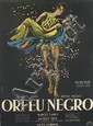 G. ALLARD (DATES UNKNOWN). ORFEU NEGRO. 1961. 62x45 inches, 158x115 cm. Affiche Gaillard, Paris.