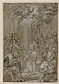 GIOVANNI DE' VECCHI (Sansepolcro 1536-1614 Rome) The Nativity.
