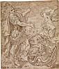 FRANCESCO BRIZIO (CIRCLE OF) (Bologna 1574-1623 Bologna) St. Michael Slaying the Dragon.
