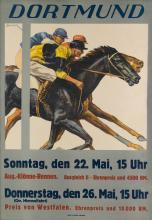 A. LAHMER (DATES UNKNOWN). DORTMUND. 1927. 33x22 inches, 83x57 cm. W. Cruwell, Dortmund.