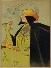 JANE ATCHÉ (1872-1937). [JOB.] 1889. 30x22 inches, 76x56 cm. [Cassan Fils, Toulouse.]