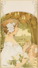 PRIVAT-LIVEMONT (1861-1936). [MICHIELS FRÈRES.] 1902. 29x16 inches, 74x41 cm.