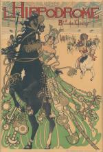 MANUEL ORAZI (1860-1934). L''HIPPODROME. 1905. 23x15 inches, 59x39 cm. Société d''Impressions d''Art Industriel, Paris.
