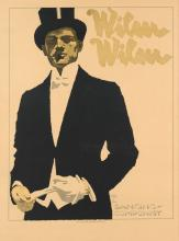 LUDWIG HOHLWEIN (1874-1949). WILM WILM. Circa 1920. 38x28 inches, 98x73 cm. Kunstanstalt Graphia, Munich.