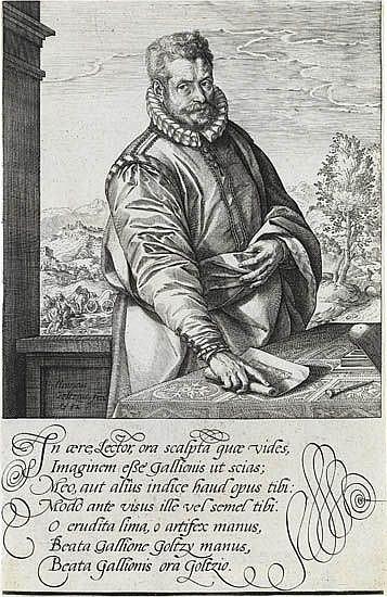 HENDRICK GOLTZIUS Philip Galle.