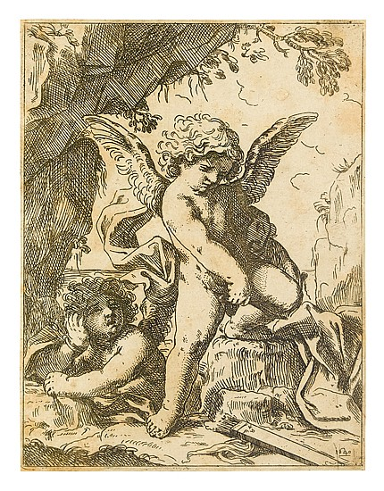 LORENZO LOLI Group of 6 etchings.