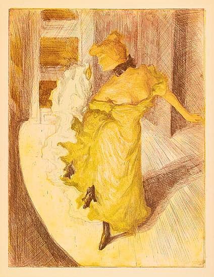 ALFREDO MÜLLER Devant la Rampe: Loïe Fuller.