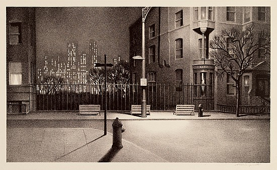 STOW WENGENROTH New York Nocturne.