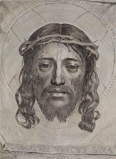 CLAUDE MELLAN Le Sainte Face (Veronica's Veil).