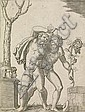 MARCANTONIO RAIMONDI A Young and an Old Bacchant., Marcantonio Raimondi, Click for value
