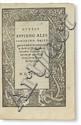APPIAN of Alexandria. Delle Guerre Civili de Romani.  1538
