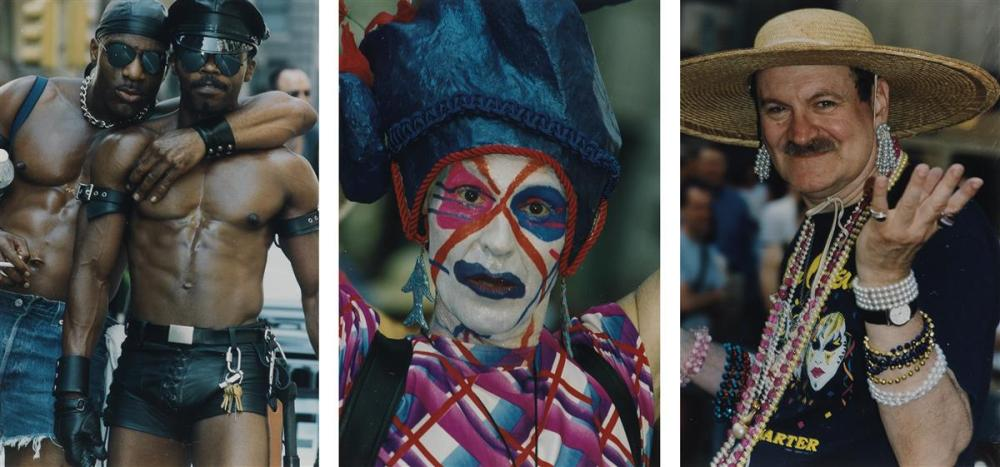 (GAY PRIDE PARADE--JUNE '97 & '98)  Album with 342 photographs chronicling the eclectically dressed (or boldly undressed) and proud p