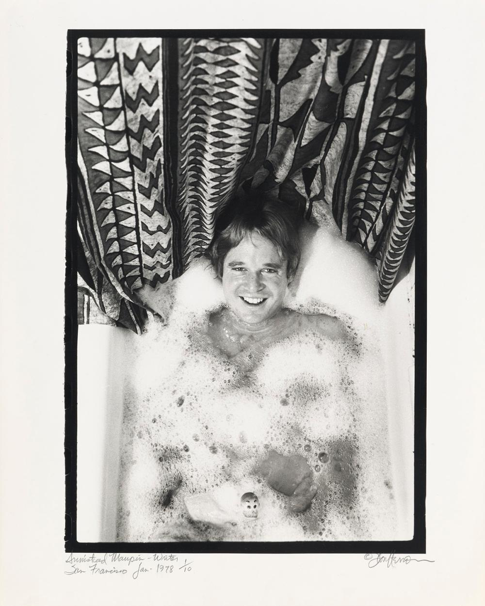 "DON HERRON (1941-2012)  Suite of 11 photographs from ""Tub Shots."""