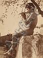 VON GLOEDEN, WILHELM (1856-1931) Untitled (young boy with flute)., Wilhelm