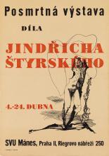 JINDRICH STYRSKY (1899-1942). JINDRICHA STYRSKEHO. 33x24 inches, 85x61 cm. Svoboda, Prague.
