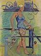 CARL SPRINCHORN Coney Island Bather.