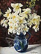 GUY WIGGINS Still Life with Daffodils.