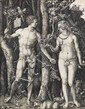 ALBRECHT DÜRER Adam and Eve.
