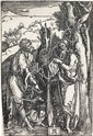 ALBRECHT DÜRER St.John the Baptist and St.Onuphrius.