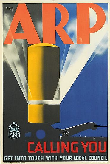 PATRICK COKAYNE KEELY (?-1970). ARP. 1938. 30x20 inches, 76x50 cm. Frosh & Crpss Ltd., London.