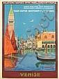 GEORGES DORIVAL (1879-1968). VENISE. 1921. 42x30 inches, 107x77 cm. Cornille & Serre, Paris., Georges Dorival, Click for value