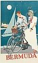 ADOLPH TREIDLER (1886-1981). BERMUDA. Circa 1950s. 40x24 inches, 102x61 cm., Adolph Treidler, Click for value