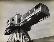 ANDRÉ KERTÉSZ (1894-1985) Modernist composition (Aix-les-Bains, France).