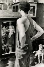 HENRI CARTIER-BRESSON (1908-2004) Lock at Bougival, France.
