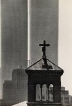 ANDRÉ KERTÉSZ (1894-1985) World Trade Center, New York City.