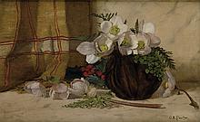 CHARLES ETHAN PORTER (1847 - 1923) Still Life with Roses.